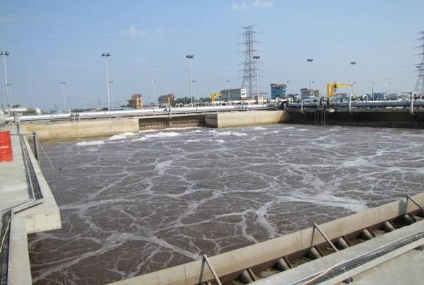 Dự án nhà máy xử lý nước thải Yên Sở đã đi vào hoạt động hơn 3 năm nay