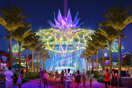 Phối cảnh của dự án Công viên Kim Quy của Sun Group