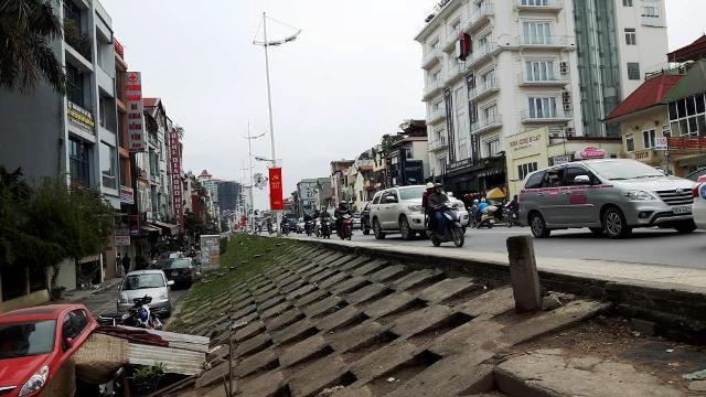 Bộ NN&PTNT đồng ý thay đổi kết cấu đê hữu Hồng đoạn từ KS Thắng Lợi đến cửa khẩu An Dương để làm đường giao thông