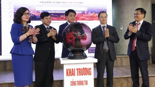 UBND TP Hà Nội chính thức khai trương Cổng thông tin Hệ sinh thái khởi nghiệp TP Hà Nội - StartupCity.vn