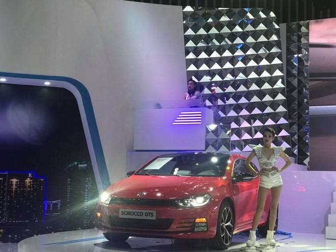 Xe thể thao Scirocco GTS của Volkswagen Việt Nam tại triển lãm