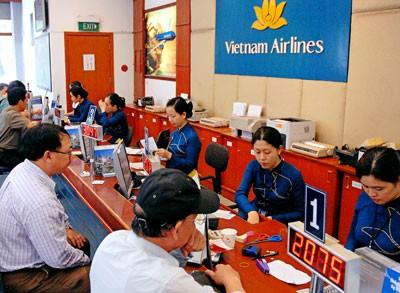 Dịp Tết, giá vé máy bay thường tăng cao