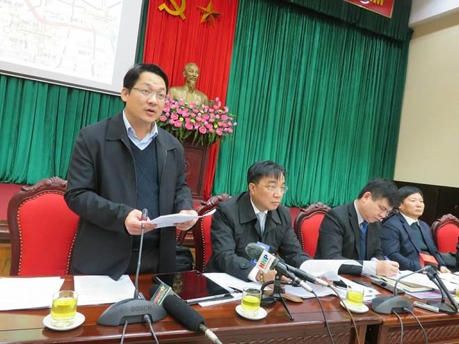 Ông Vũ Hà - Phó Giám đốc Sở GTVT Hà Nội thông tin về dự án nghìn tỷ Hoàng Cầu - Voi Phục