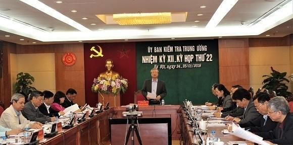 Đề nghị Ban Bí thư kỷ luật đối với nguyên Bí thư Quảng Nam Lê Phước Thanh