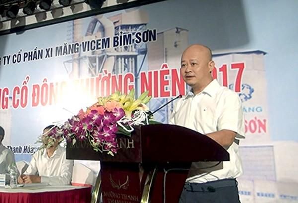 Ông Trần Việt Thắng đã vi phạm khi lãnh đạo Tổng Công ty Công nghiệp Xi măng Việt Nam và Công ty cổ phần Xi măng Hà Tiên 1