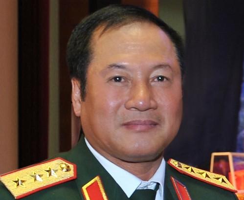 Thượng tướng Phương Minh Hòa, nguyên Tư lệnh Quân chủng Phòng không - Không quân (Ảnh: TTXVN)