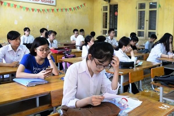 Bộ Giáo dục và Đào tạo cho rằng, chưa thể bỏ kỳ thi THPT quốc gia