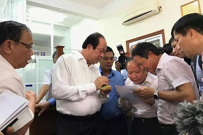 Tổ công tác của Thủ tướng kiểm tra thực tế tại Hải Phòng