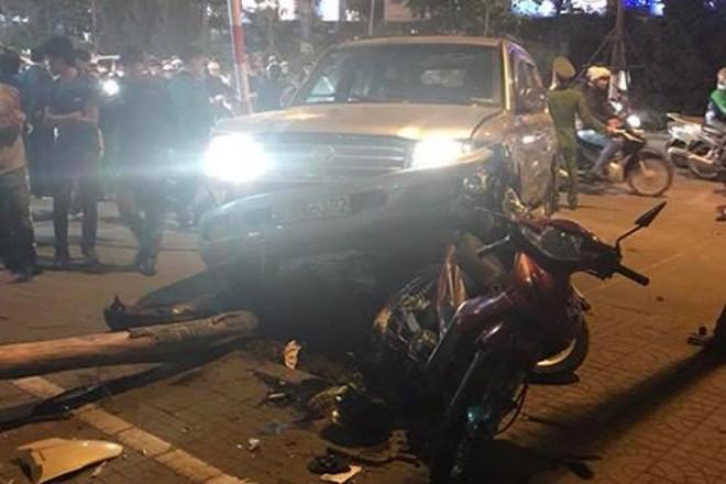 Một vụ tai nạn giao thông nghiêm trọng xảy ra ở Hà Nội (ảnh minh họa)
