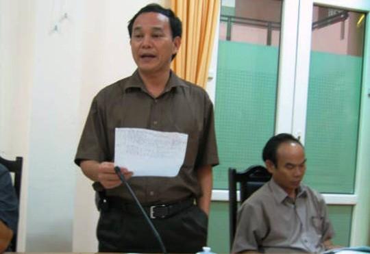 Ông Lê Như Tuấn, nguyên Giám đốc Sở NN-PTNT Thanh Hóa (ảnh: NLĐ)