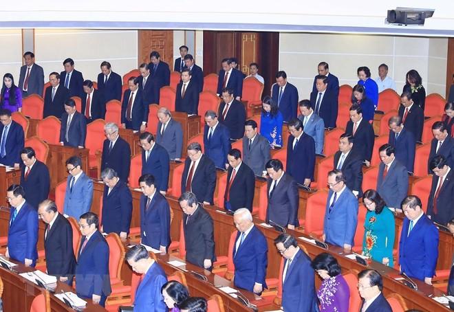 Trung ương dành 1 phút mặc niệm nguyên Tổng Bí thư Đỗ Mười và Chủ tịch nước Trần Đại Quang
