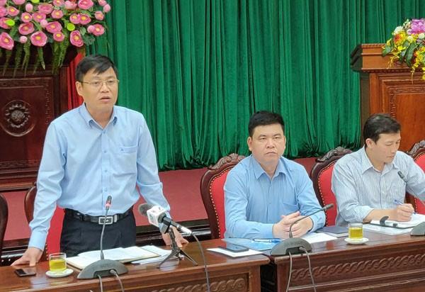 Ông Đặng Đức Quỳnh trả lời câu hỏi về việc Thanh Trì sẽ lên quận vào năm 2020