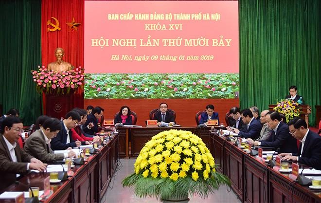 Hà Nội: Đề cao trách nhiệm nêu gương, chuẩn bị tốt nhân sự khóa tới