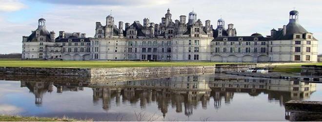 Hình ảnh lâu đài Chateau de Chambord, Pháp