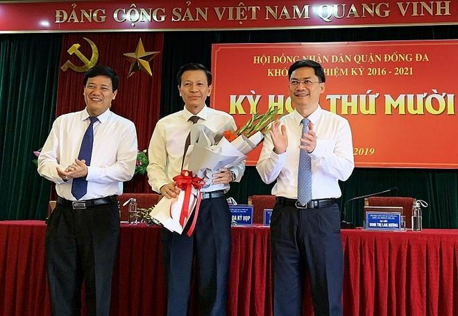 Phó Bí thư Thường trực Quận ủy Đống Đa Đặng Việt Quân được bầu giữ chức danh Chủ tịch HĐND quận