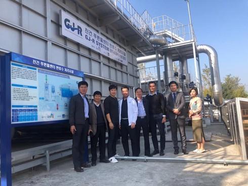 Thành phố Gyeongju chuyển giao công nghệ xử lý nước thải cho Tập đoàn Sơn Hà – Việt Nam