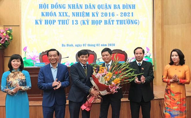 Ông Tạ Nam Chiến được bầu làm Chủ tịch UBND quận Ba Đình