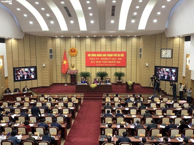 HĐND TP Hà Nội thông qua nghị quyết sáp nhập thôn, tổ dân phố của 11 quận, huyện