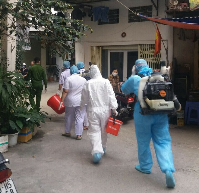 Bộ Y tế liên tiếp công bố các ca nhiễm Covid-19