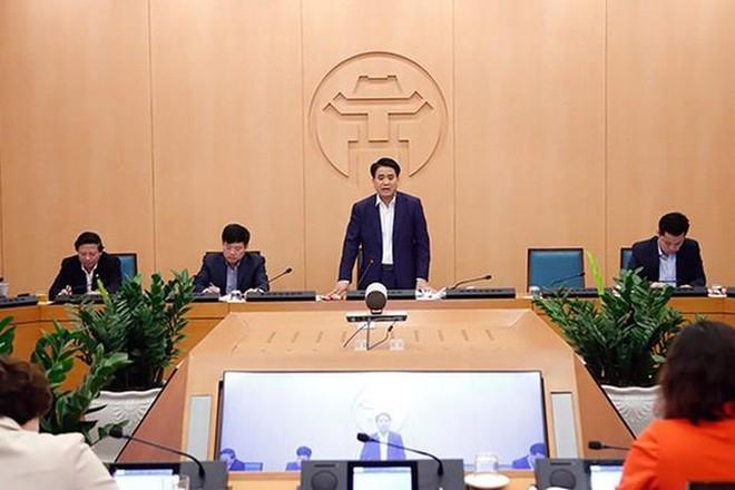 Chủ tịch UBND TP Hà Nội Nguyễn Đức Chung kêu gọi người dân bình tĩnh, không hoang mang