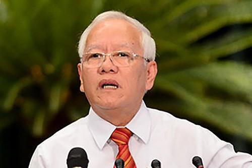 Nguyên Chủ tịch UBND TP Hồ Chí Minh Lê Hoàng Quân bị kỷ luật cảnh cáo