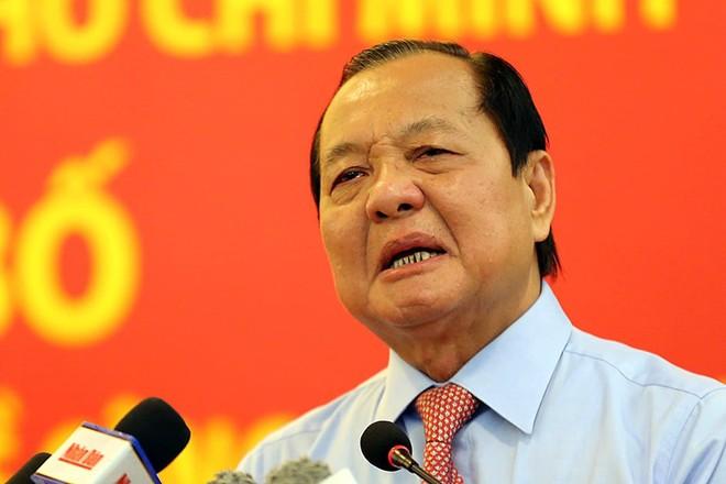 Ông Lê Thanh Hải bị cách chức Bí thư Thành ủy Thành phố Hồ Chí Minh nhiệm kỳ 2010 - 2015