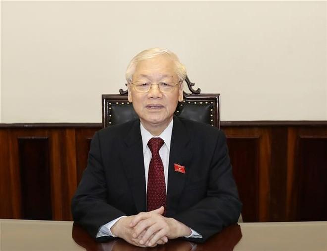 Tổng Bí thư, Chủ tịch nước Nguyễn Phú Trọng (ảnh: TTXVN)