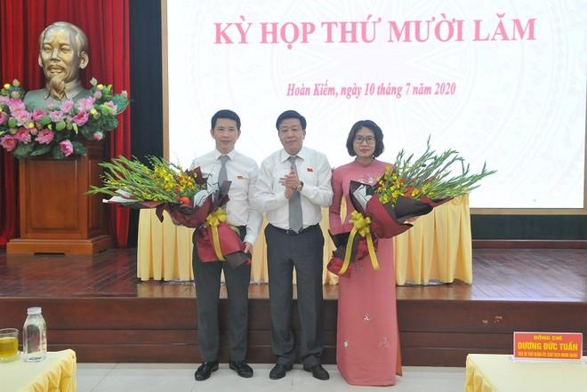 Bí thư Quận ủy, Chủ tịch HĐND quận Hoàn Kiếm Dương Đức Tuấn