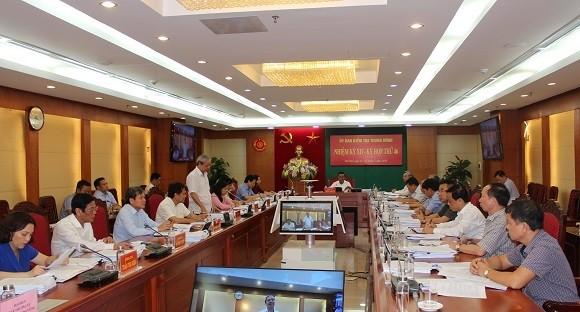 Đề nghị khai trừ Đảng đối với Trưởng Ban Nội chính Tỉnh ủy Thái Bình