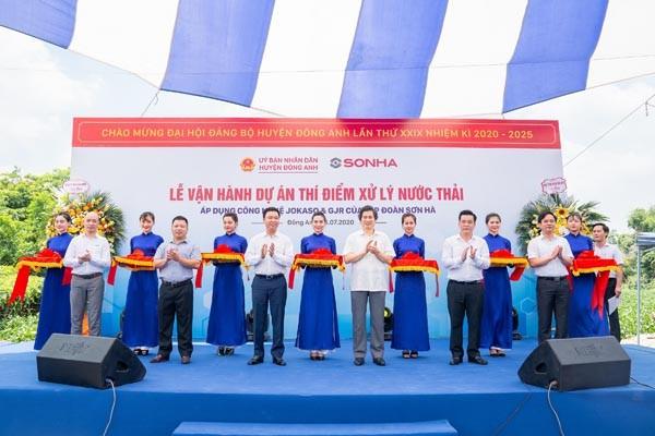 Hà Nội: Thí điểm triển khai công nghệ xử lý nước thải tại huyện Đông Anh