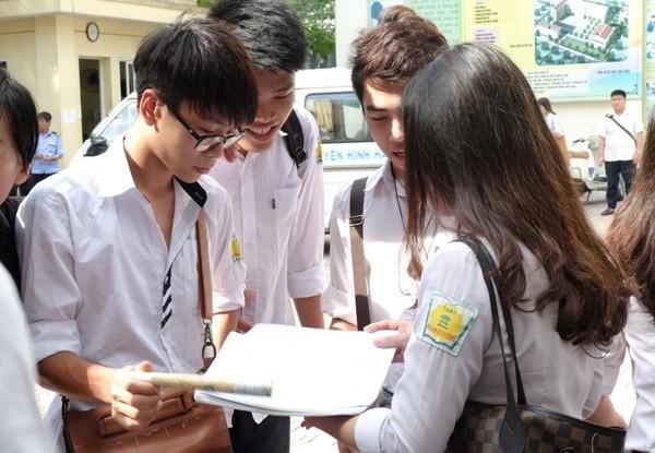 Không sửa chữa, tẩy xóa trong phiếu ĐKDT kỳ thi THPT quốc gia 2015