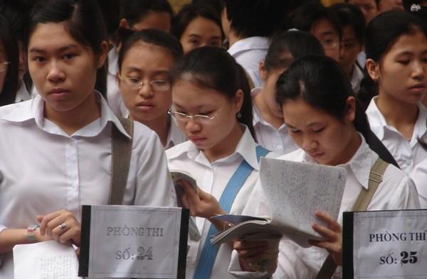 Khoảng 200.000 thí sinh sẽ dự thi THPT quốc gia tại Hà Nội