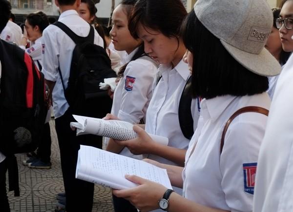 Chính thức chốt số liệu thí sinh đăng ký dự thi THPT quốc gia theo môn thi và cụm thi