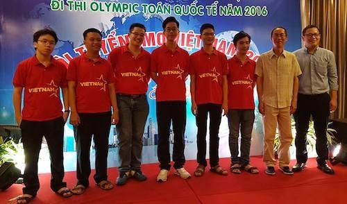 Cả 6 thành viên đội tuyển Olympic Toán Việt Nam đều đoạt huy chương