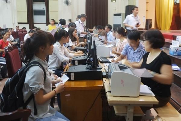 Các cụm thi đang tích cực chuẩn bị công bố kết quả thi THPt quốc gia 2016