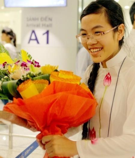Đinh Thị Hương Thảo liên tục đạt thành tích cao trong các kỳ thi Olympic Vật lý quốc tế
