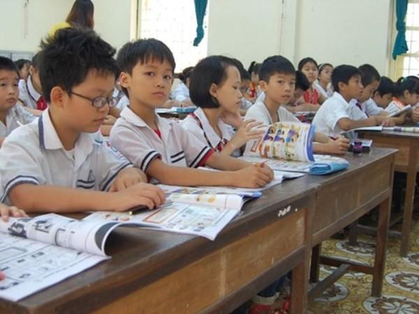 Ngoài tiếng Anh, học sinh có thể lựa chọn tiếng Pháp, tiếng Nga hay tiếng Trung, Nhật làm ngoại ngữ chính trong trường học