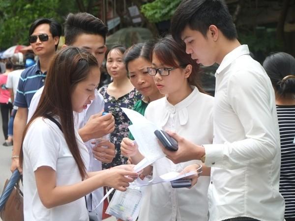 Thầy và trò Hà Nội sớm thích ứng với phương thức thi mới 2017