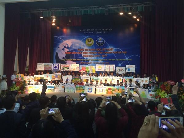 Gần 80 đề án nghiên cứu khoa học của học sinh phổ thông Hà Nội dự thi cấp thành phố