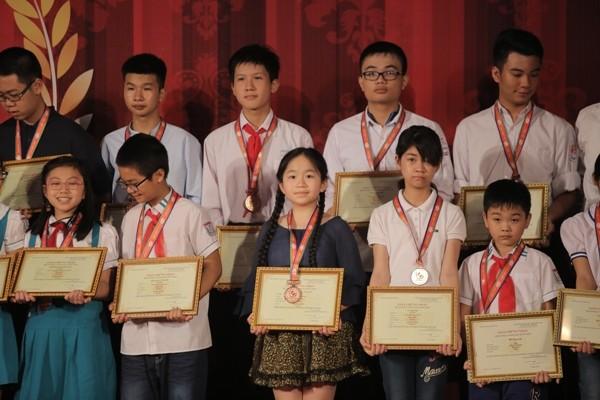 Kỳ thi Violympic 2017 kết thúc với gần 4.500 học sinh cả nước đoạt giải