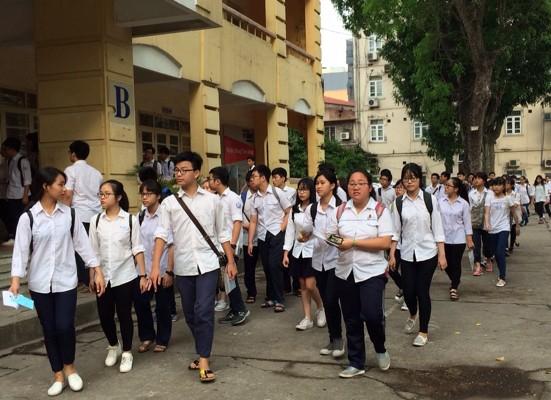 Học sinh lớp 12 đã có thể tham khảo đề minh hoạ kỳ thi THPT quốc gia 2018