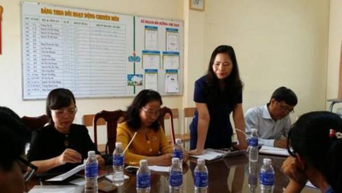 Công đoàn Giáo dục Việt Nam làm việc về vụ cô giáo phải quỳ xin lỗi phụ huynh