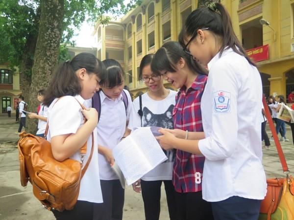 So với mức tăng dự kiến ban đầu 22.000 học sinh, số hồ sơ đăng ký dự thi vào lớp 10