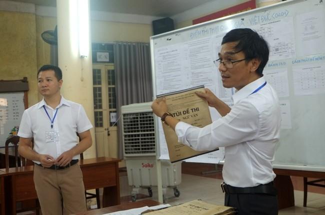 Hà Nội tâp trung tập huấn kỹ công tác đảm bảo an toàn đề thi