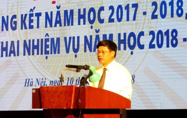 Phó Chủ tịch UBND TP Hà Nội Ngô Văn Quý yêu cầu triển khai 6 nhiệm vụ năm học mới