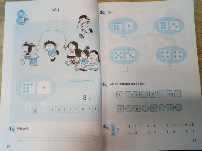 SGK tiểu học vẫn có phần bài tập in sẵn để học sinh điền vào ngay trên lớp