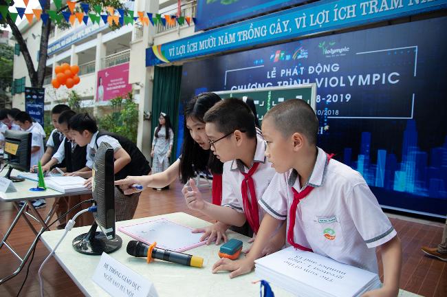 Violympic tạo cơ hội học tập, cọ sát với học sinh trong nước lẫn nước ngoài