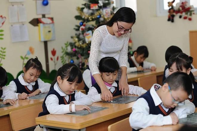 Cả nước còn hơn 40% giáo viên tiểu học cần nâng chuẩn lên trình độ đại học