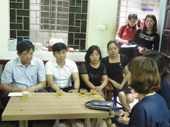 Công đoàn ngành giáo dục Hà Nội chia buồn cùng gia đình cô giáo Trần Thị Quỳnh
