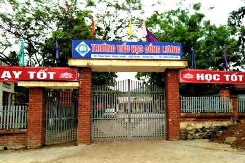 Kẻ lạ đột nhập vào trường Đồng Lương, Thanh Hóa đâm hàng loạt học sinh và giáo viên